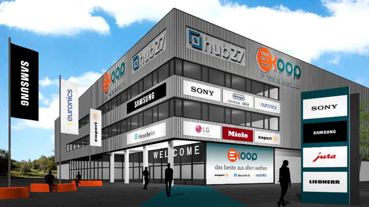 virtuelle Koop Halle Messe Berlin Euronics