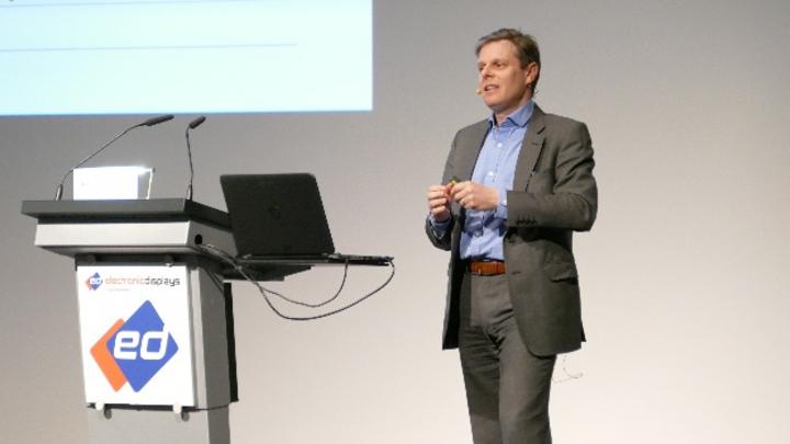 Paul Gray ist langjähriger Analyst beim Marktforschungsunternehmen Omdia (ehemals IHS) und sprach auch 2020 auf der electronic displays Conference.