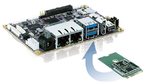 Die neue KI-Plattform »AI-pITX-100-GC« von Kontron besteht aus einem M.2-Modul mit Googles Coral-Beschleuniger-Chip für das Softwareökosystem TensorFlow Lite