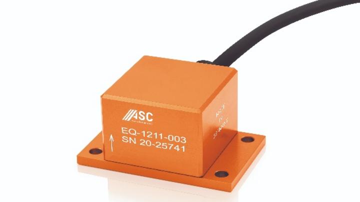 Die Sensoren der ASC-EQ-Serie eignen sich u.a. für seismische Messungen, das Structural Health Monitoring und für Noise-Referenzmessungen.