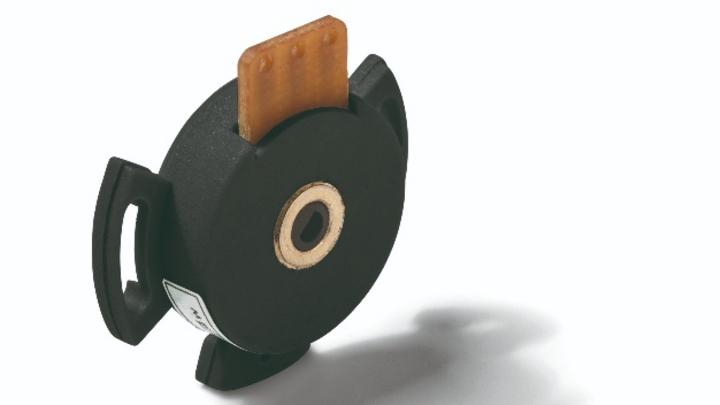 Klein und kompakt sind die Hohlwellen-Leitplastikpotentiometer der Serie MHP16 von Megatron.