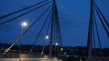 Die neue Kampmannbrücke in Essen.