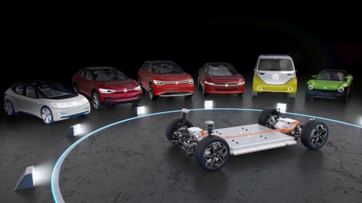 Mit dem Modularen E-Antriebs-Baukasten verfügt Volkswagen bereits über eine reine Elektro-Plattform.