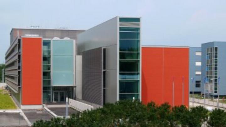 Das Leibniz-Rechenzentrum in Garching bei München.