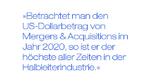 Zitat: »Betrachtet man den US-Dollarbetrag von Mergers & Acquisitions im Jahr 2020, so ist er der höchste aller Zeiten in der Halbleiterindustrie.«