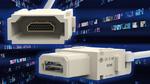HDMI-Videosignale in schweren Steckverbindern