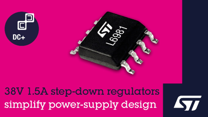 STMicroelectronics, L6981, Power Management