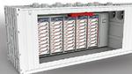 Typisches Energiespeichersystems – vom Speichermodul im Rack bis zum Gesamtsystem mit seinen externen Schnittstellen