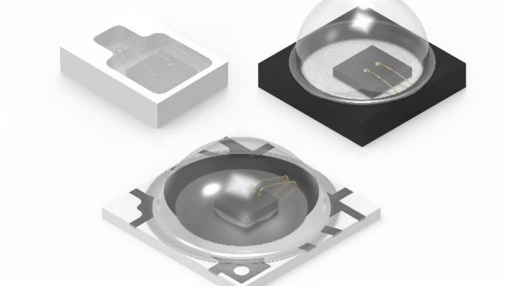 Die Bauteile der Serie WL-SIQW SMT Infrarot QFN LED Waterclear von Würth sind in verschiedenen Varianten erhältlich.