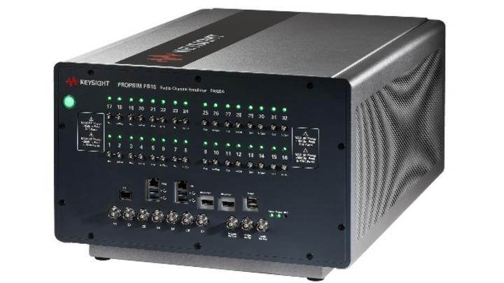 Das Kanalemulations-Toolset Keysight S8825A nutzt die Hardware- und Softwareplattformen der Kanalemulatoren PROPSIM FS16 und F64.