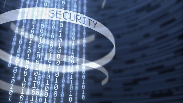 Durch das Sicherheitssystem geschützte digitale Binärdaten.