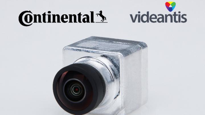 videantis-basiertes Kamerasystem