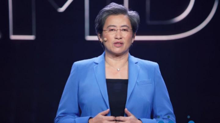 Freut sich auf ein Rekordjahr: Lisa Su, CEO von AMD.