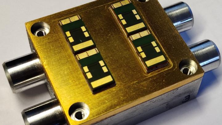 Gut gekühlt und effizient – Wechselrichter für Porsche-Antriebe.