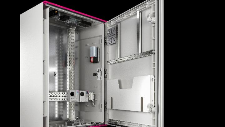 Flexibler Innenausbau im Kunststoffschrank