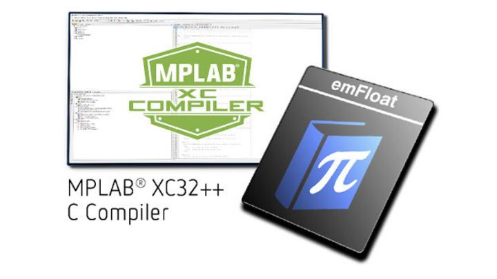 MPLAB XC mit emFloat