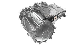 Der Motor arbeitet mit induktiver Leistungsübertragung.