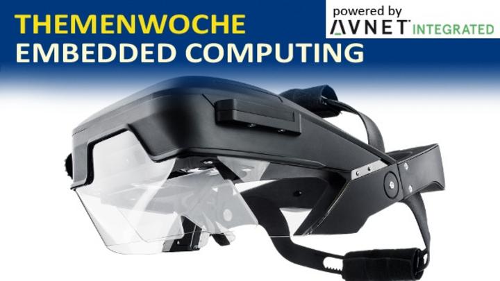 Head-Mounted-Display, entwickelt am Fraunhofer FEP.