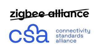 Altes und neues Logo der Zigbee bzw. Connectivity Standards Alliance