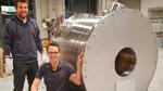 Die Gehäuse der neuen MRT-Scanner, hergestellt vom Neoscan-Team in Magdeburg