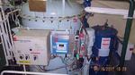 In einem Separator wird das verschmutzte Bilgenwasser durch Zentrifugieren von Feststoffen oder Flüssigkeiten gereinigt