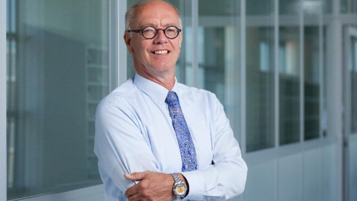Rutger Wijburg, Leiter der Frontendfertigung weltweit von Infineon