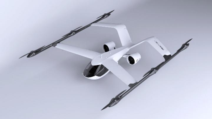 Das kompakte Flugzeuglayout macht den VoloConnect natürlich stabil und effizient im Vorwärtsflug bei gleichzeitig niedriger Überziehgeschwindigkeit.