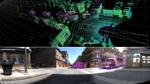 Beispiele der in PixSet enthaltenen Bilder, auf denen einzelne Objekte manuell mit 3D-Rahmen versehen wurden