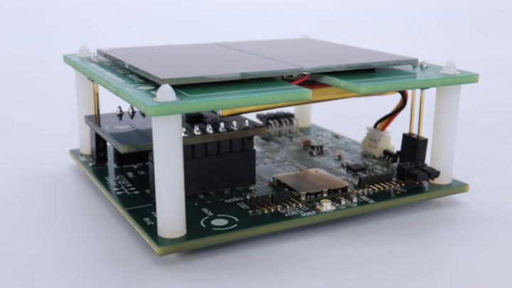 Referenzdesign von Murata und Nowi für energieautarke LoRa-Funksensorknoten.