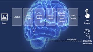 Die InnerEye-Technologie umgeht die Notwendigkeit, offen gezeigte Reaktionen des Benutzers aufzuzeichnen.