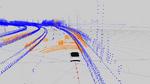 Bild 1. Abgleich von Punktwolken mit der TomTom HD Map mit RoadDNA.