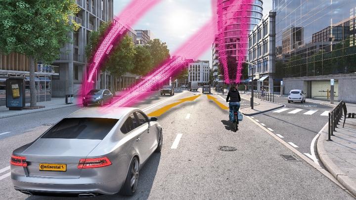 Connected Car Verkehrssicherheit