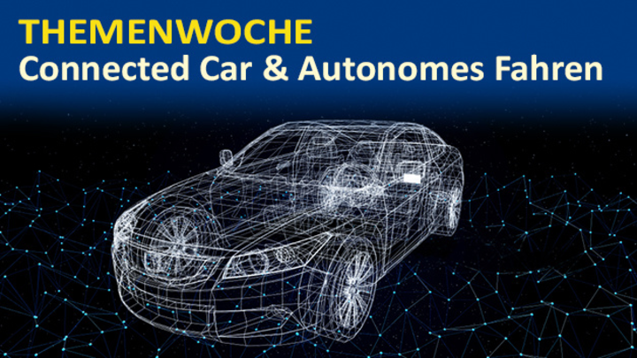 Vernetzte Fahrzeuge als Knotenpunkte eines umfangreichen Ökosystems.