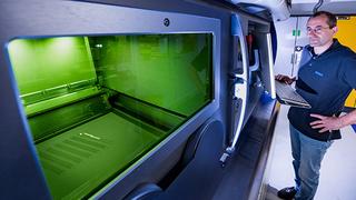 3D-Druck sieht Mahle als eine Schlüsseltechnologie für die schnelle Entwicklung klimaneutraler Antriebe.