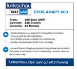 funkschau Test Lab Epos Adapt 660