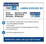 funkschau Test Lab Jabra Evolve2 85