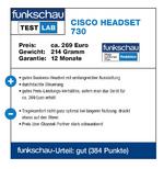 funkschau Test Lab Cisco Headset 730