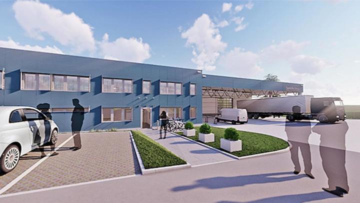 Der im Bau befindliche dritte Produktionsstandort von SemsoTec soll Ende 2021 fertiggestellt sein.