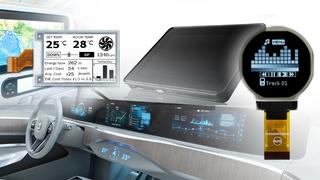 Die Neuheiten der Display-Hersteller reichen von großen Ultrawide-Displays bis zu kompakten E-Paper-Displays mit schnellerer Bildaktualisierung - ohne Ghosting.