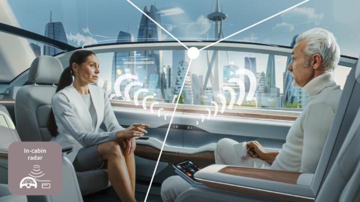 In-Cabin-Monitoring-Systeme verbessern das Konzept der Insassensicherheit im Fahrzeug.
