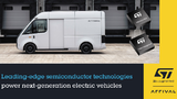 Die Kooperation mit Arrival umfasst Prozessor-, Stromversorgungs- und Batteriemanagement-Produkte.