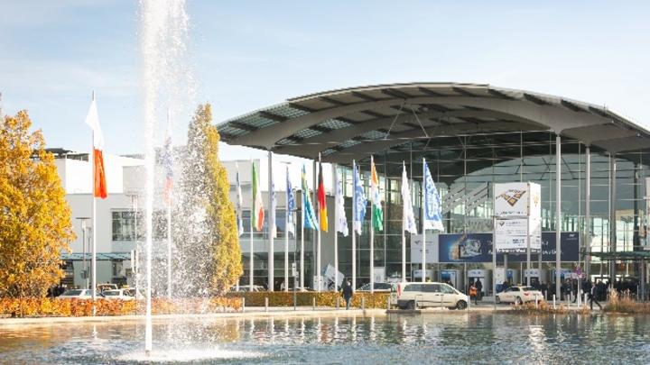 Das Messegelände der Messe München wird im November wieder Anlaufstelle für Vertreter der Elektronikfertigung sein.