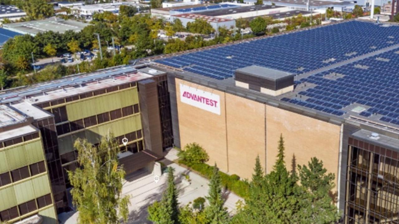 Advantests Forschungsstandort in Böblingen.