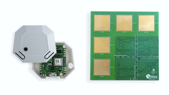 Tag und Ankermodul für Bluetooth-Lokalisierung von u-blox