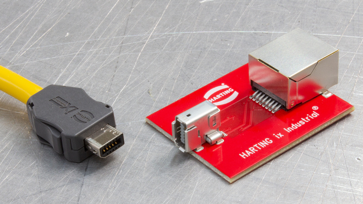 Harting, Single Pair Ethernet, ix Industrial, Profinet