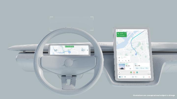 Die Software resultiert aus einer Zusammenarbeit von Volvo Cars mit Google.