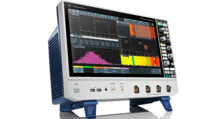 Mit der Serie R&S RTO6 führt Rohde & Schwarz ein neues GUI ein und bringt ein größeres 15,6-Zoll-Touchdisplay in seine Laboroszilloskope.