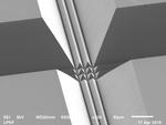 Ein mit Hilfe der LIDE-Technik von LPKF formiertes MEMS-Package – bisher unvorstellbare Designs werden möglich.