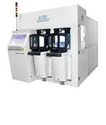 Die Vitrion-Lasermaschine führt Laser-Modifikation von Dünnglas durch.