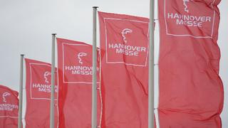 Hannover Messe, Flaggen